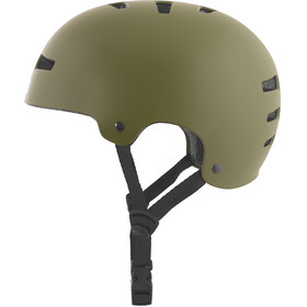 TSG Evolution Solid Color Helmet satin olive